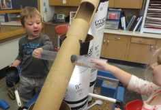 SAND AND WATER TABLES: HOLES AND MATH