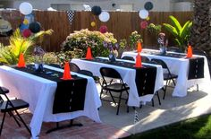 Disney Pixar Car's Party Birthday Party Ideas   Photo 7 of 71   Catch My Party