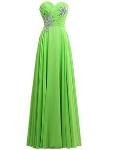 JAEDEN Women's Sweetheart Long Formal Evening Dress Chiffon Bridesmaid Prom Gown Green US2 JAEDEN http://www.amazon.com/dp/B00UJ9CQ9A/ref=cm_sw_r_pi_dp_MXKivb0J6EGZQ