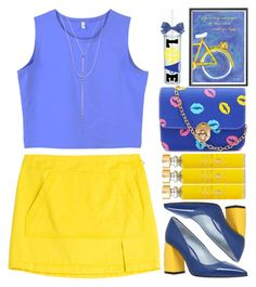 A fashion look from May 2016 featuring crop tops, Marc by Marc Jacobs and high heeled footwear. Browse and shop related looks. Ask The Dust, Blue Crop Tops, Monday Morning, Polyvore Outfits, Casual Chic, Marc Jacobs, Girls Dresses, Fashion Looks, Parma