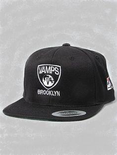 Vamp Life The Vamps Brooklyn Snapback Hat in Black Snapback Hats f88ef45cc4cc