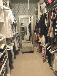closet make-over!