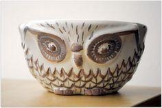 Owl Bowl #owl #bowl #pottery #ceramic