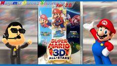 Super Mario All Stars, Super Mario 3d, Game Museum, Virtual Games, Wii U, Timeless Classic