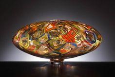 RRJ1580 - Lino Tagliapietra Contemporary Design, Decorative Bowls, Glass Art, Sculptures, Africa, Artsy, Murano Glass, Antiques, Gallery