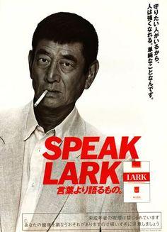 LARK ×高倉健|言葉より語るもの。