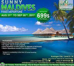 , 89 : Satu lagi paket tour istimewa yang bisa anda dapatkan bersama kami dengan penawaran khusus traveling ke Maldives yang begitu indah untuk dikunjungi. Pesan sekarang juga! -------------------------- Dapatkan juga diskon / voucher dan promo khusus di bulan ini. -------------------------- Hubungi kami atau kunjungi: Kuningan City - Level 2 / 18  Jl. Prof. Dr. Satrio Kav.18 Jakarta.  Check our bio for details.  IG: @satgurutravel.id  FB: fb.com/satgurutravelsid ☎ 021-50101526…