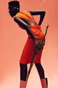 cfdf5562826 Orange Afro Punk Fashion