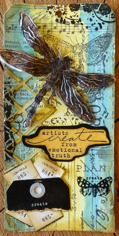 Innovative creativity from PaperArtsy. Paint, stencils, and techniques galore for any mixed media enthusiast to enjoy. Paper Art, Paper Crafts, Handmade Tags, Artist Trading Cards, Painted Paper, Card Maker, Mail Art, Tim Holtz, Scrapbook Paper