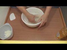 Zamísení těsta - YouTube Plastic Cutting Board, Bread, Youtube, Brot, Baking, Breads, Buns, Youtubers, Youtube Movies