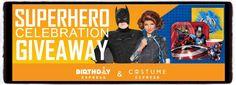 Birthday Express Superhero Celebration Giveaway WIN a Superhero Celebration Package ENDS 5/17