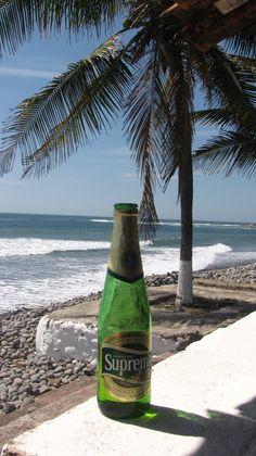 Beach life. El Salvador, C.A.