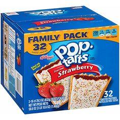 Pop-Tarts, Frosted Strawberry, 32 Count, 58.61 Ounce Pop-Tarts http://www.amazon.com/dp/B010D52ITM/ref=cm_sw_r_pi_dp_i.QDwb1VZK8BS