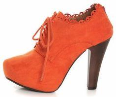 Coral again!! #lulus Ankle booties