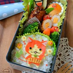 Yokai watch bento