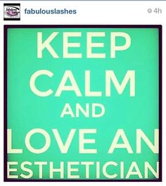 "Keep Calm and Love an Esthetician.  Spa party.  Kathy's Day Spa Party""! Skincare, facials masks and make-up techniques!! Booking within the Southern NJ area or start your own Spa Party business, ask me how? www.beautipage.com/KathysDaySpa www.facebook.com/KathysDaySpa"