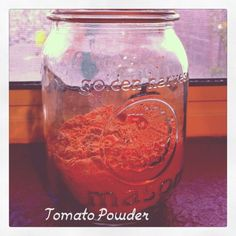 Making Tomato Powder