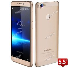"""BLACKVIEW R7 5.5"""" 2.5D FHD Helio P10 MTK6755 Octa-core Android 6.0 4G Phone 4GB RAM 32GB ROM Touch ID"""