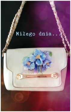 www.facebook.com/idylla.art  #handpainted #handbags #trendy