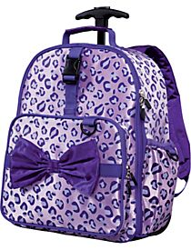 Kid, Bags and Girls rolling backpack on Pinterest
