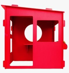 Want!  Want!  Want!  Love this Raspberry colored play house.