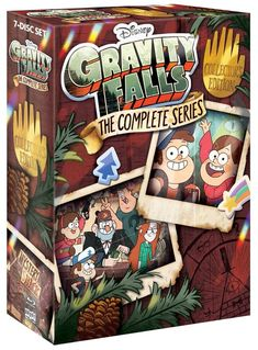 ANNOUNCING: The Gravity Falls Collector's edition FULL SERIES DVD/BLU RAY BOX SET! 7 discs! Every episode! Crazy bonus content! Pre-order NOW!! #MysteryShackIsBack