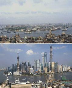 Shanghai changes 1987-2013