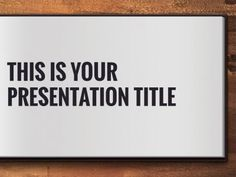 Quintus presentation template