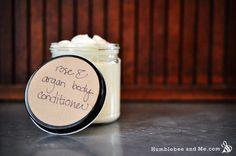 Rose & Argan Body Conditioner. This is actually my favourite hand cream recipe too!