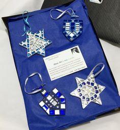 Star of David & Dreidel Ornament Set ? Jewish Holiday Gift ? Hanukkah Gift ? Hanukkah Decor ? Hanukkah Ornament  ? Jewish Hostess Gift ?