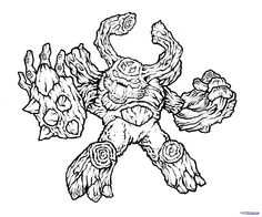 skylanders coloring pages to print google search