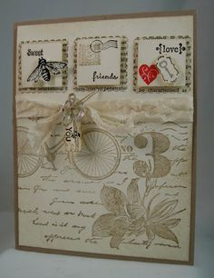 3 inchies on vintage background. Designs by Sharon: June 2012
