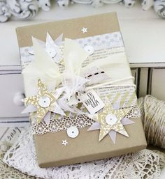 Decorated Package by Melissa Phillips for Papertrey Ink (May 2014)