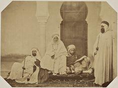 Algerian Chiefs, nineteenth century (1856)