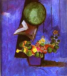 Henri Matisse / Flowers and Ceramic Plate