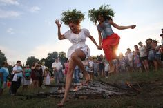 The feast of Ivan Kupala is a traditional and most mysterious and magic East Slavic holiday. Christian Holidays, John The Baptist, July 6th, Ukraine, Christianity, Night, Celebrities, Celebs, Celebrity