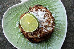 Karibisk frukost - kokos och limeplättar
