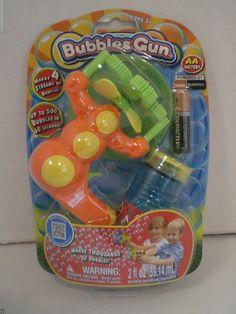 Amazing Bubbles Bubble Gun up to 500 bubbles in 60 Seconds  4 streams of bubbles #Placo