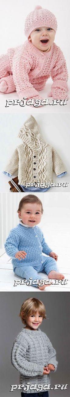 Детский пуловер и свитер спицами или крючком