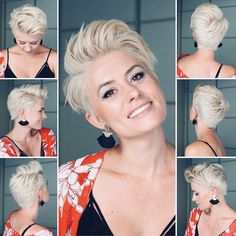 Pixie Haircuts for Thin Hair Pictures now on our web site! You can try the short layered haircuts fine hair. Very Short Haircuts, Thin Hair Haircuts, Pixie Hairstyles, Edgy Pixie Haircuts, Messy Pixie Cuts, Messy Pixie Haircut, Diy Haircut, School Hairstyles, Layered Haircuts
