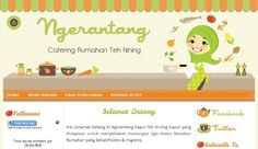 Ngerantang Catering Blog Design | Free Blogger Template, Blogger Widgets,Vector, Icon, Design Resources,Design Inspiration