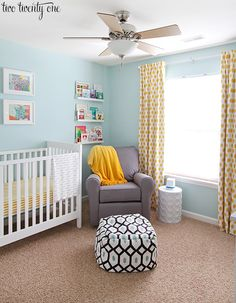 When I was pregnant one of themost frequentquestions I was asked was, What s the nursery theme? I would begin by answering with my general color scheme. But I would almost always get puzzled looks.