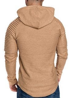 Jofemuho Men Solid Color Cloak Slim Button Down Long Sleeve Fashion Dress Shirt