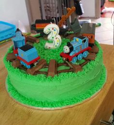 James 3rd birthday cake