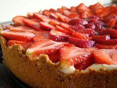Imagem da receita Torta de morango