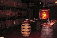 Wine barrels @ San Sebastian Winery in St Augustine FL