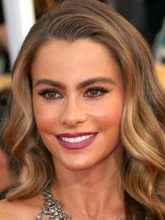 Sofia Vergara at the 2014 SAG Awards: http://beautyeditor.ca/2014/01/20/sag-awards-2014/