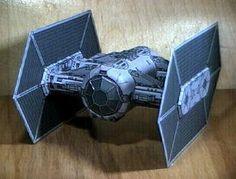 Star Wars - TIE-Interceptor Paper Model - by Sci-Fi Papercraf