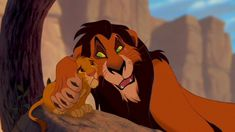 A moment that makes you mad: When scar tells Simba it's his fault that his dad died.