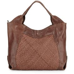 Henry Beguelin Beverly Woven Double-Handle Tote Bag